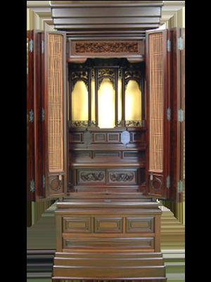 唐木仏壇の写真