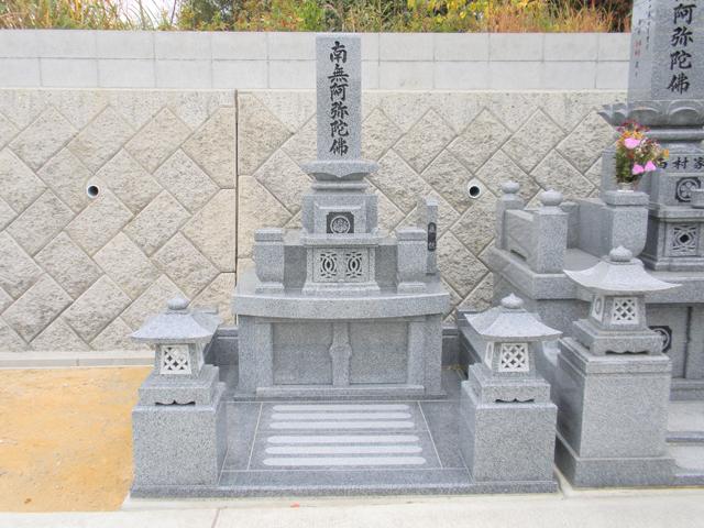 お墓の施工例01