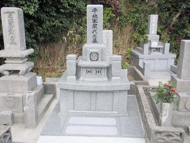 お墓の施工例03
